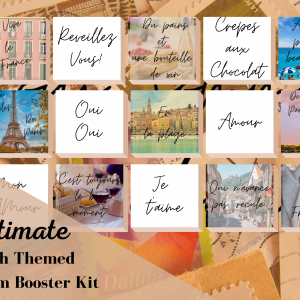 French Themed Instagram Booster Kit
